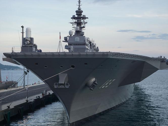 Triển vọng tàu sân bay Nhật