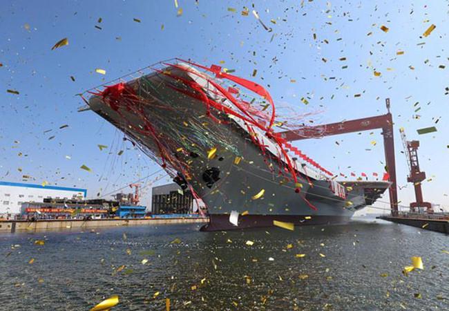 Trung Quốc hạ thủy tàu sân bay thứ hai: Mỹ có cần lo lắng?