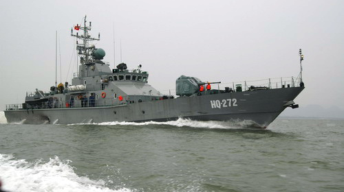 Năng lực tàu pháo tuần tra Svetljak của Hải quân Việt Nam