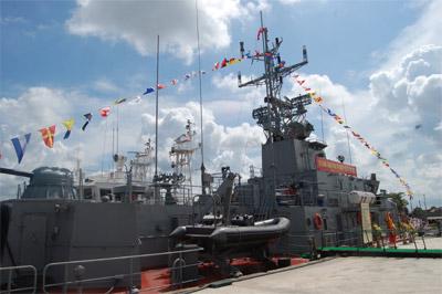 Bộ Tư lệnh Hải quân ký hợp đồng đóng mới 2 lớp tàu chiến đấu