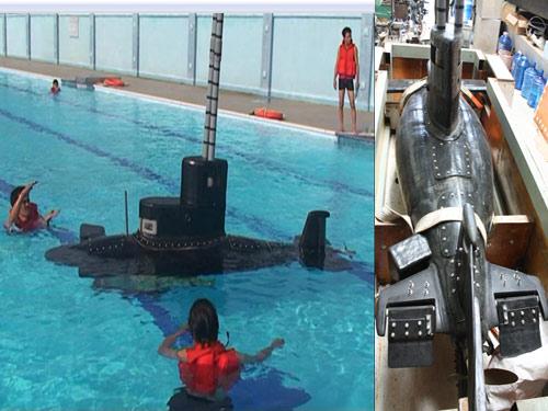 Người Việt chế tạo tàu ngầm