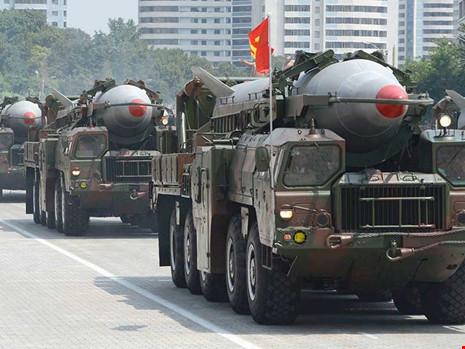 'Triều Tiên đang tập dượt cho chiến tranh hạt nhân'