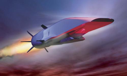 Mỹ chạy đua chế tạo tên lửa siêu vượt âm đối phó Nga-Trung