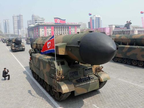 Tình hình căng thẳng trên bán đảo Triều Tiên chiều 19-04-2017