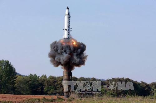 Tin tức tình hình Biển Đông trưa 12-06-2017: Triều Tiên tung ảnh tên lửa hành trình chống hạm xuyên thủng tàu chiến