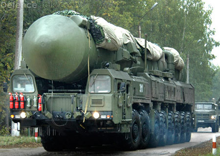 Yars RS-24: ICBM được bảo vệ tốt nhất. Quốc gia sản xuất: Nga, phóng lần đầu năm 2007. Tầm bắn 11.000 km.
