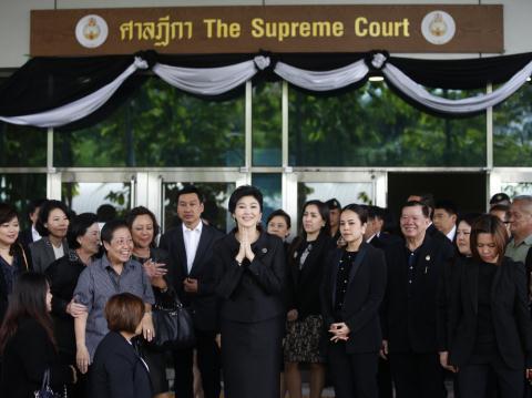 an so con duong dao tau cua cuu thu tuong thai lan yingluck shinawatra.