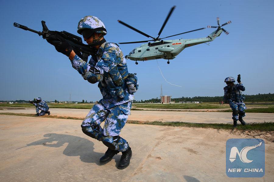 Vì sao Trung Quốc cắt giảm lục quân, tăng cường hải quân và thủy quân lục chiến?