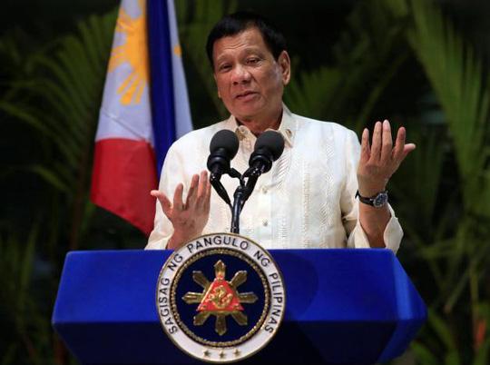 Tổng thống Duterte tin 'lời hứa danh dự' của Trung Quốc