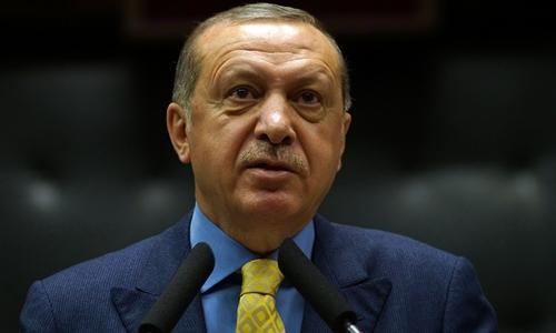 tong thong tho nhi ky tayyip erdogan. anh:reuters.