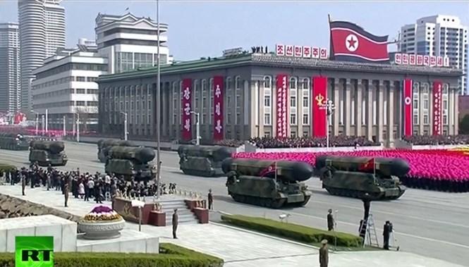 Tình hình căng thẳng trên bán đảo Triều Tiên  trưa 16-04-2017