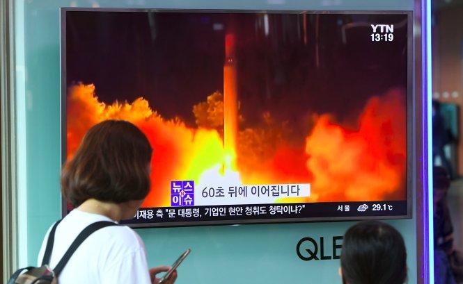 Tình hình căng thẳng trên bán đảo Triều Tiên trưa 02-08-2017