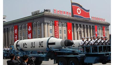 Tình hình căng thẳng trên bán đảo Triều Tiên  trưa 17-04-2017