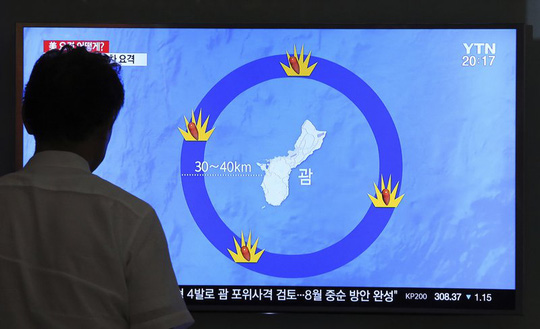 Tình hình căng thẳng trên bán đảo Triều Tiên tối 17-08-2017: