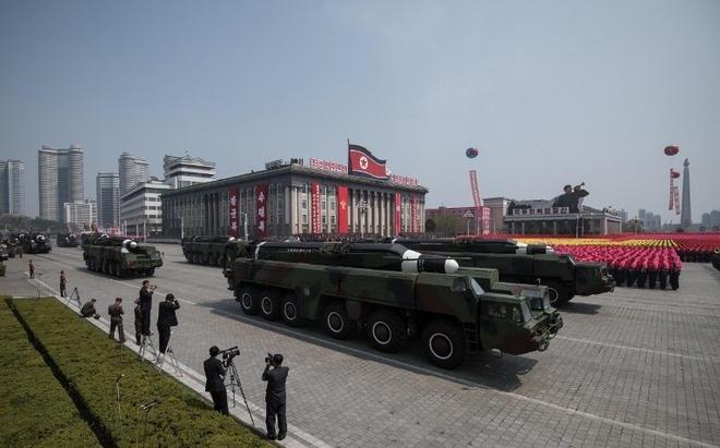 Khoảnh khắc ấn tượng trong lễ duyệt binh lớn nhất lịch sử Triều Tiên