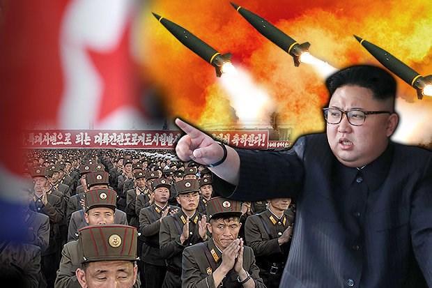 Tình hình căng thẳng trên bán đảo Triều Tiên chiều 30-07-2017