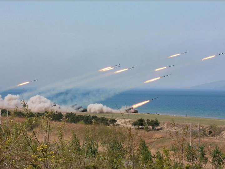 Tình hình căng thẳng trên bán đảo Triều Tiên sáng 27-08-2017: