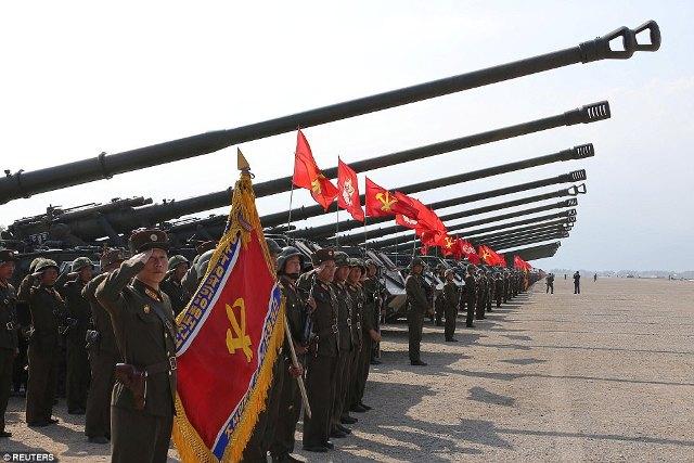 Tình hình căng thẳng trên bán đảo Triều Tiên tối 28-04-2017