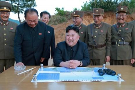 Tình hình căng thẳng trên bán đảo Triều Tiên trưa 27-05-2017