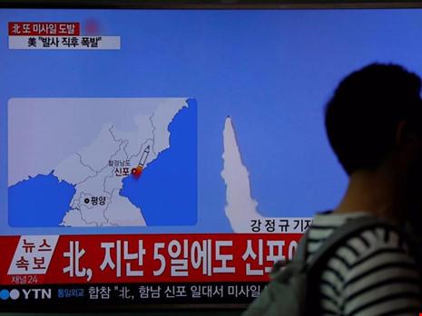 Tình hình căng thẳng trên bán đảo Triều Tiên tối 18-04-2017