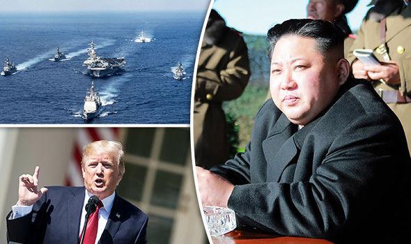 Tin tức tình hình Biển Đông trưa 08-05-2017: Quân đội Mỹ áp sát bán đảo Triều Tiên - Nguy cơ chiến tranh gia tăng