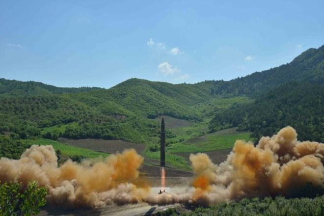Tình hình căng thẳng trên bán đảo Triều Tiên chiều 17-07-2017