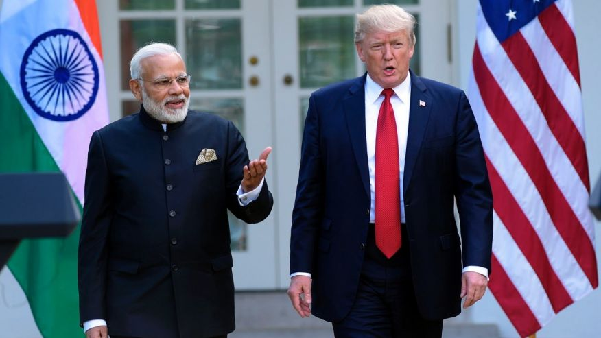 thu tuong an do narendra modi gap mat tong thong my donald trump hoi thang sau.