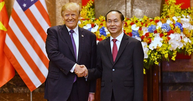 Tin tức tình hình Biển Đông sáng 21-11-2017: Trung Quốc coi Hợp tác Việt - Mỹ như là cái gai trong mắt