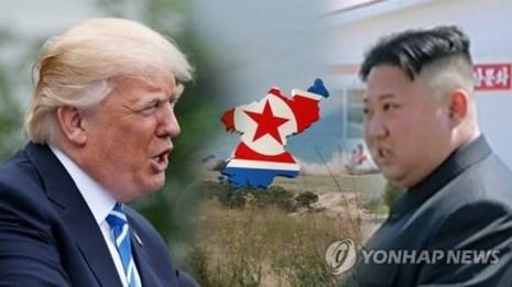 Ông Trump ra chính sách 4 điểm về Triều Tiên - ảnh 1