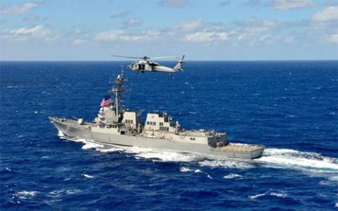 Trung Quốc chặn tàu nước ngoài sau diễn tập phục kích ngầm