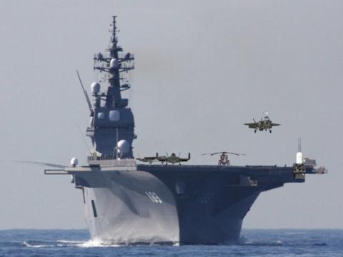 Thái độ lạ của Trung Quốc trước khi tàu sân bay Izumo Nhật Bản  tới Biển Đông