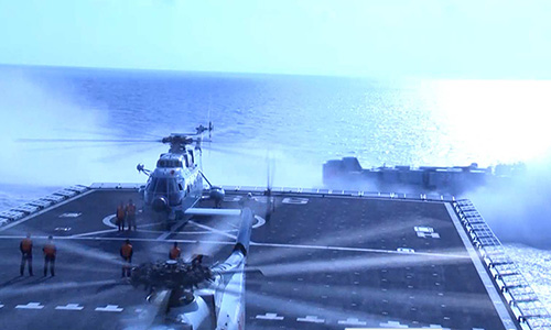 Việt Nam phản ứng việc Trung Quốc tập bắn đạn thật ở Biển Đông