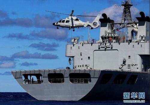Tin tức tình hình Biển Đông chiều 06-12-2017: Trung Quốc lại diễn tập quân sự phi pháp ở Biển Đông