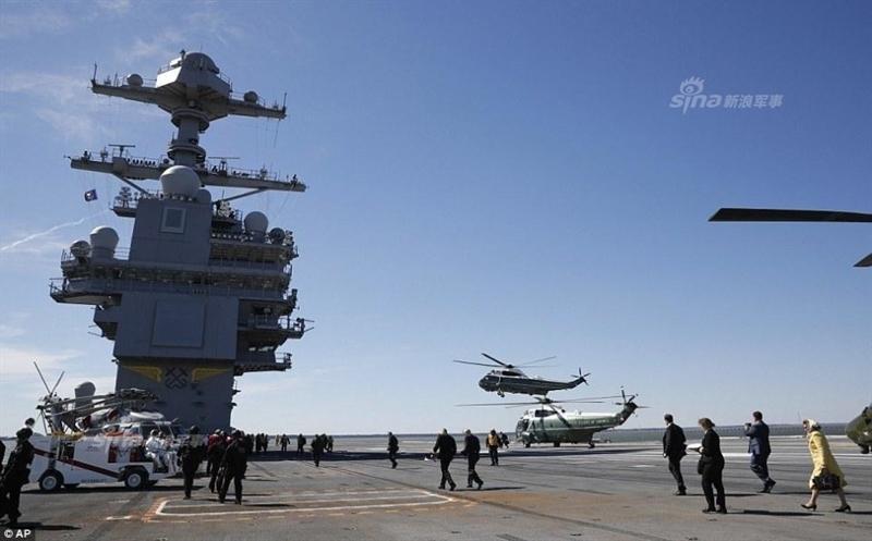 Tử huyệt tàu sân bay và sự khác biệt Nga-Mỹ