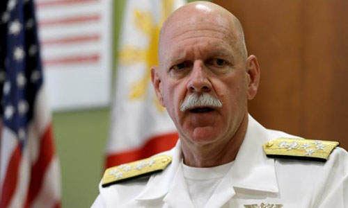 Đô đốc Scott Swift: 'Mỹ không hạ giọng về Biển Đông'