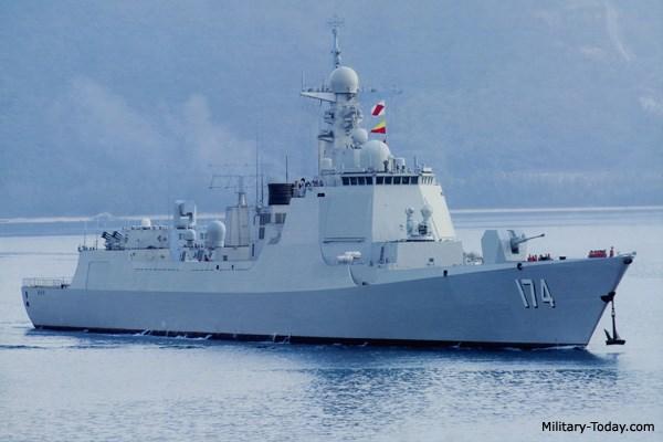 Tin tức tình hình Biển Đông  03-10-2017:  Type  052D - Lá chắn thần Trung Hoa  dễ bị xuyên thủng
