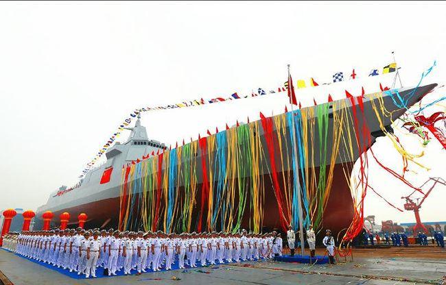 Trung Quốc chế tạo hàng chục tàu khu trục mới, tham vọng hải quân mạnh số 1 thế giới