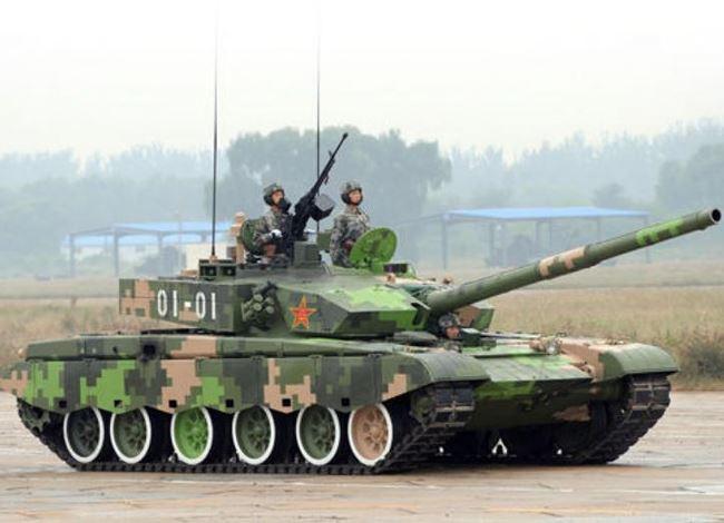 xe tang chien dau type 99 trung quoc. anh: huanqiu.