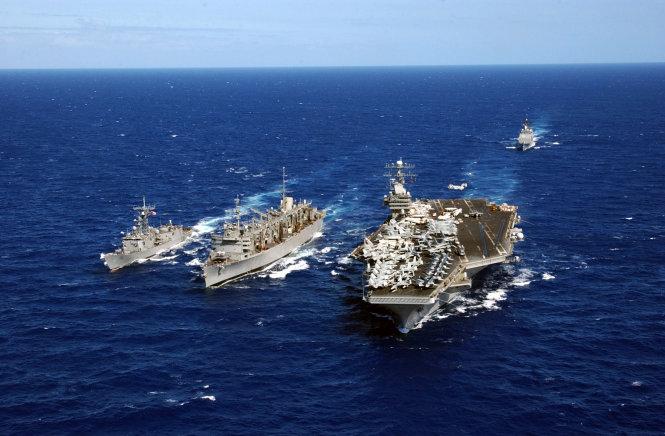 Nhật - Mỹ tập trận chung trên biển Hoa Đông