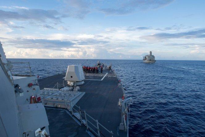 Tuần tra Biển Đông nằm trong chiến lược lâu dài của Mỹ