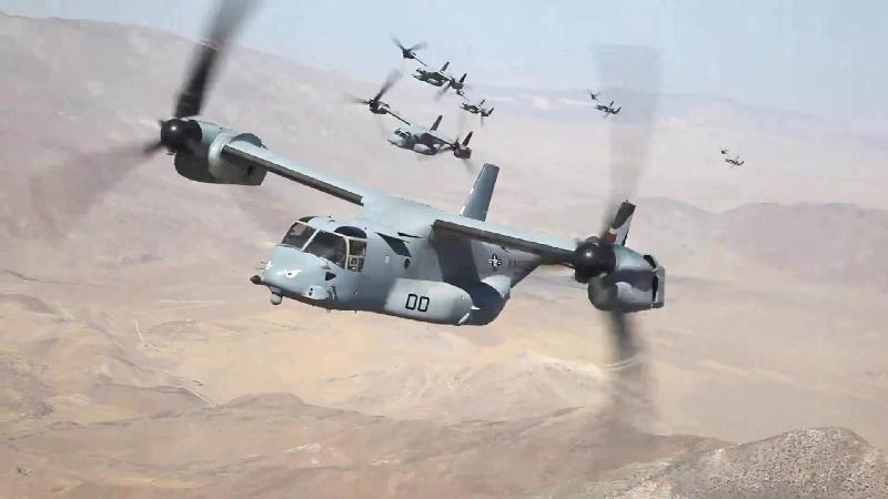 v-22 osprey hien dang duoc nhieu nuoc tren the gioi de y va mua ve.
