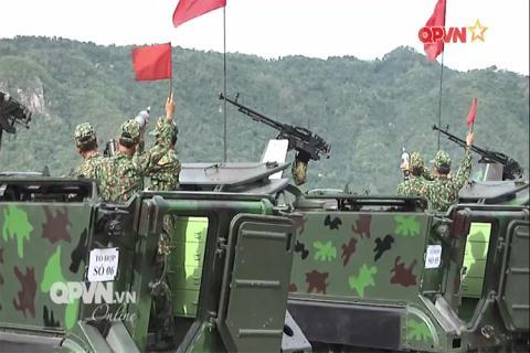 Việt Nam nghiệm thu cối tự hành mạnh ngang Mỹ
