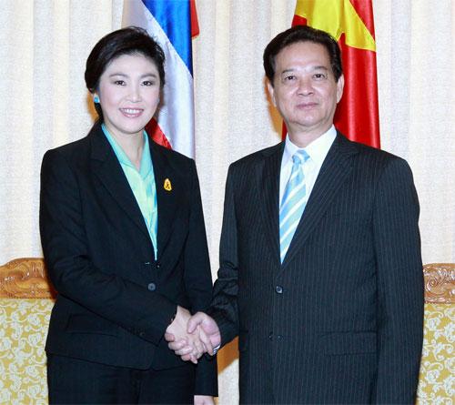 Xem xét nâng quan hệ Việt - Thái lên đối tác chiến lược