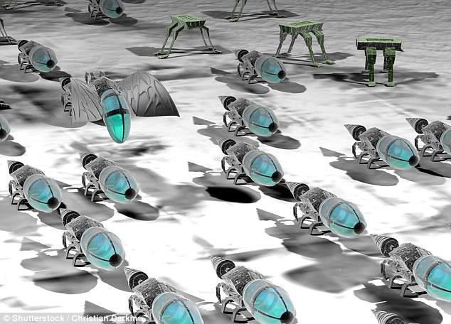 Bí ẩn loại vũ khí nhỏ như côn trùng nhưng có thể hủy diệt nhân loại