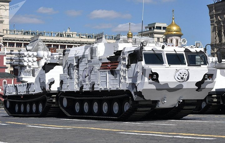 Khám phá dàn phương tiện và vũ khí đặc chủng của quân đội Nga ở Bắc Cực